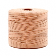 Fil Nylon S-Lon 0.6mm rose vintage marron