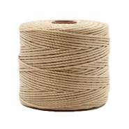 Fil Nylon S-Lon 0.6mm beige marron
