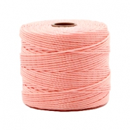 Fil Nylon S-Lon 0.6mm rose bonbon