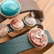 Sets d'inspiration Bracelets Cuoio et cabochons Polaris Elements